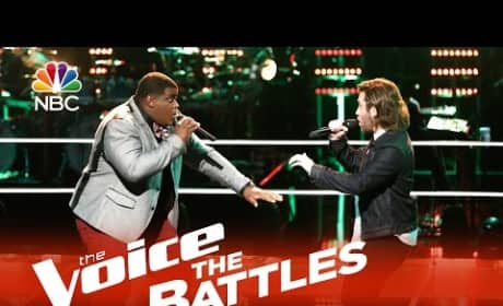 Blaze Johnson vs. Michael Leier (The Voice Battle Round)