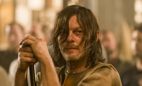 Daryll Is Struggling on The Walking Dead