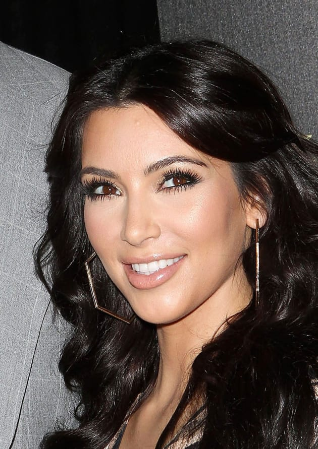 Kim Kardashians Face Then And Now The Hollywood Gossip
