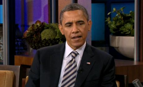 Barack Obama on The Tonight Show, Part II