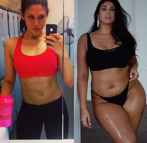 La'Tecia Thomas, Before and After Bikinis