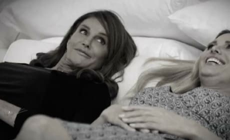 Caitlyn Jenner Kisses Candis Cayne!
