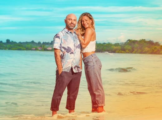 Mark and Key for Love In Paradise: The Caribbean, A 90 Day Story