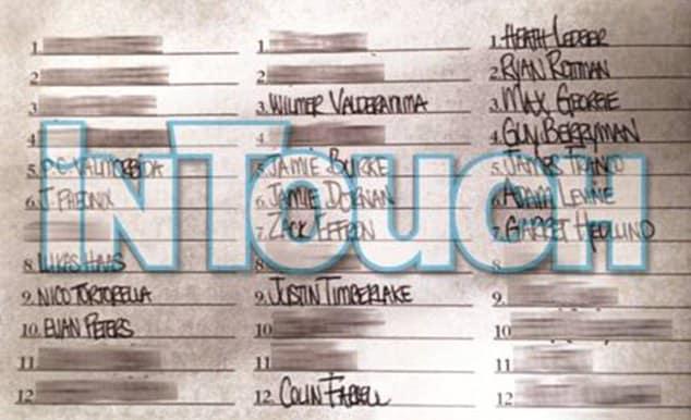 Lindsay Lohan Conquest List