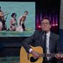 Stephen Colbert, Orlando Bloom and Katy Perry