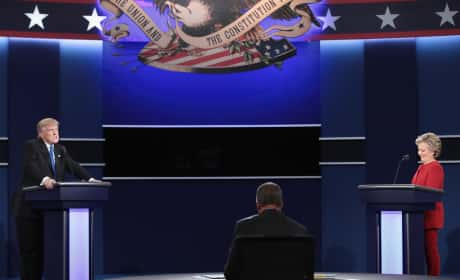 2016 Presidential Debate Photo