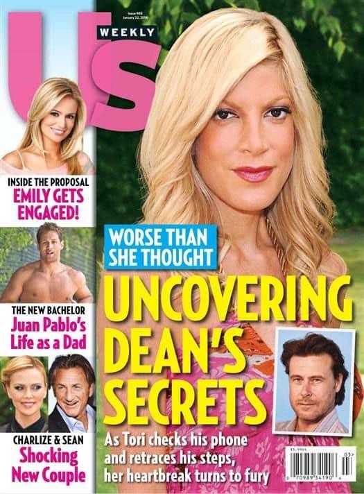 Tori Spelling Covers Us Weekly