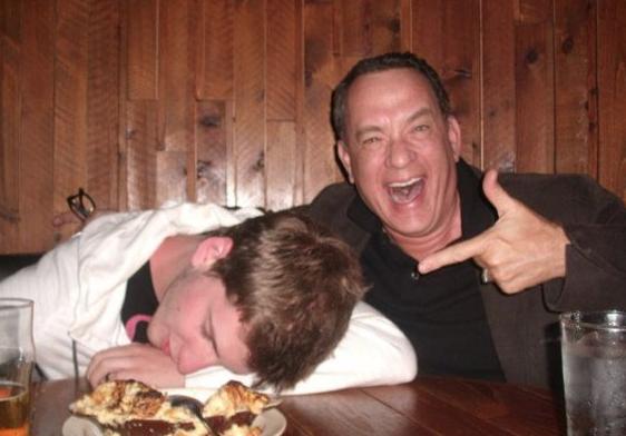 Tom Hanks Diner Photo