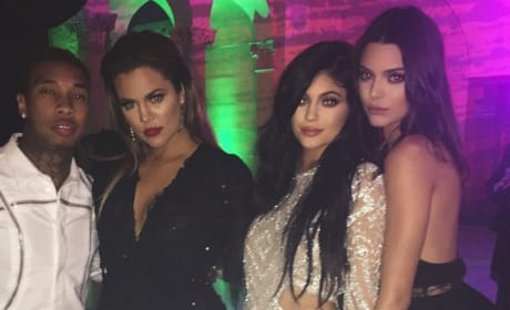 Kylie Jenner and Kendall Jenner Pose