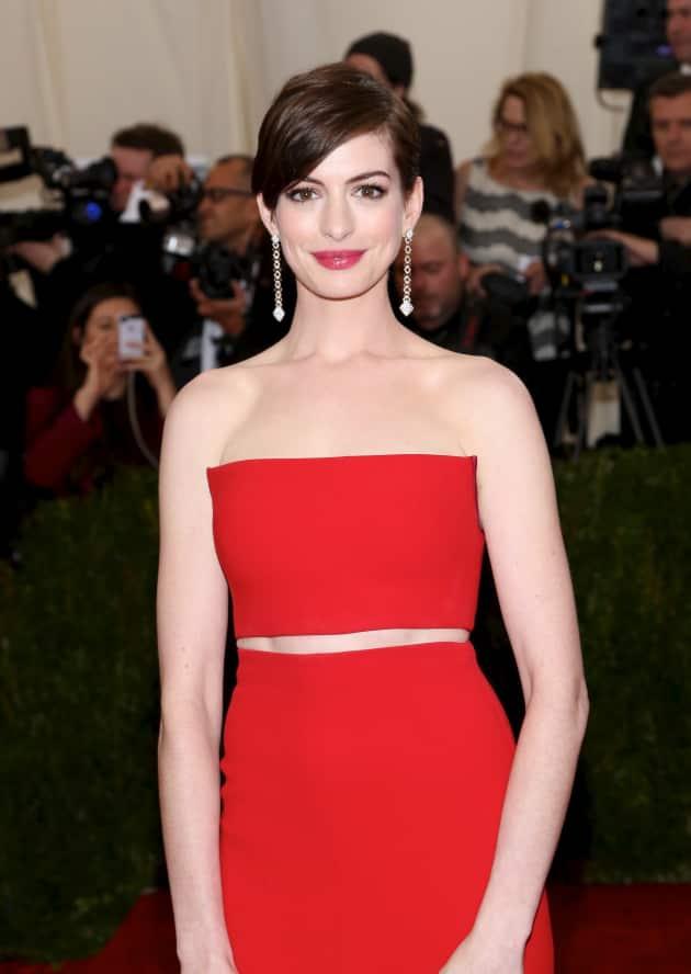 Anne Hathaway at MET Gala