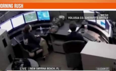 911 Dispatcher Allegedly Points Gun At Reporter