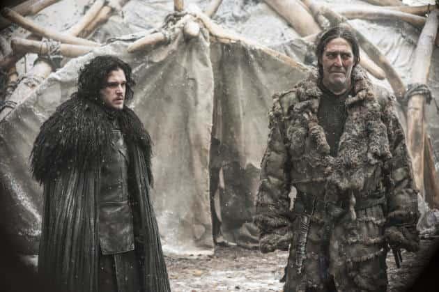 Jon Snow with Mance