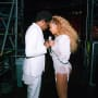 Jay z and beyonce backstage and grateful
