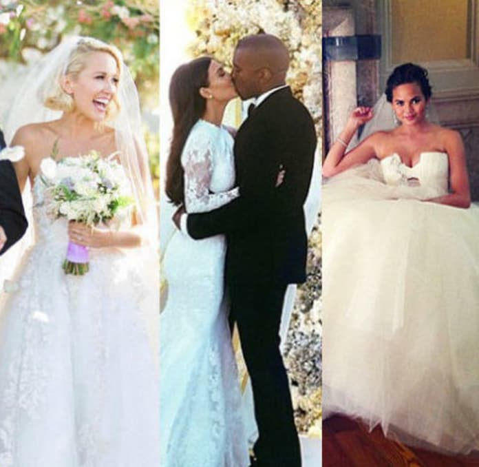 33 Celebrity Wedding Dresses We Wish We Wore - The Hollywood Gossip
