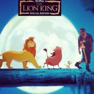 Drake Meme Lion King