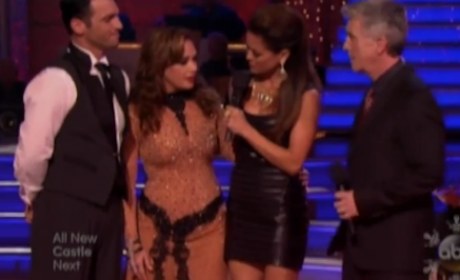 Leah Remini Eliminated on Dancing With the Stars