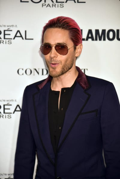 Jared Leto With Red Hair