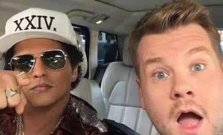 Bruno Mars on Carpool Karaoke: Was It 24K Magic?