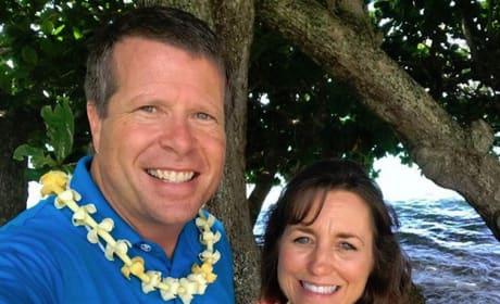 Jim Bob Duggar and Michelle Duggar on Vacation