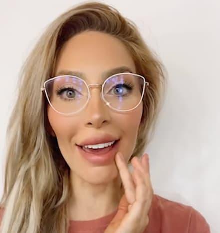 Farrah Abraham in Glasses