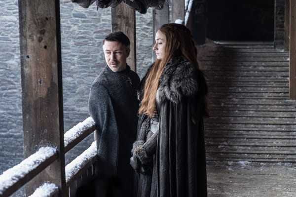Littlefinger &amp Sansa at the Wall