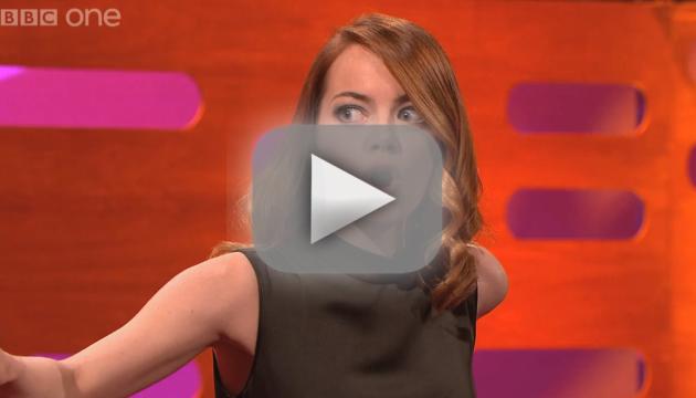 Emma Stone: Pranked on The Graham Norton Show!