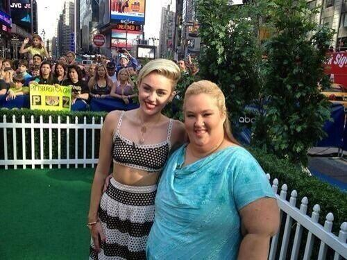Miley Cyrus and June Shannon