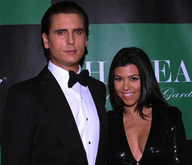 Kourtney Kardashian and Scott Disick Pic