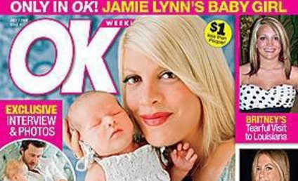 Stella McDermott Exploited by Tori Spelling on Tabloid Cover