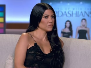 Kourtney Kardashian at the Reunion