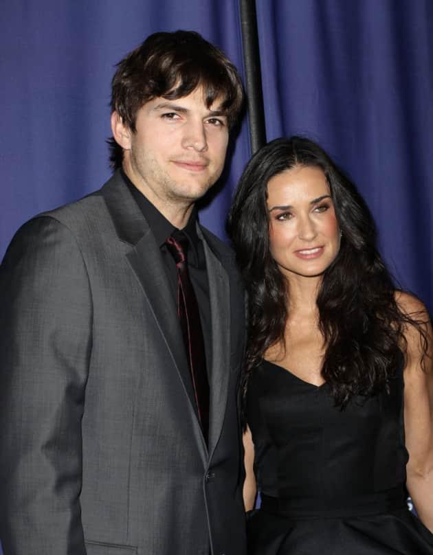Ashton and Demi Picture