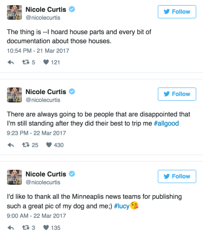 Curtis Tweets
