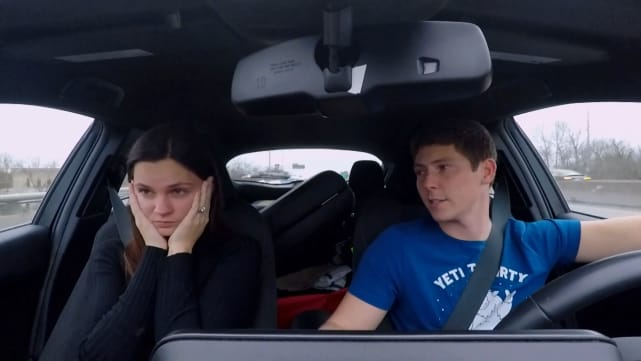 Brandon Gibbs and Julia Trubkina