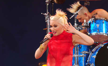 Gwen Stefani on Stage