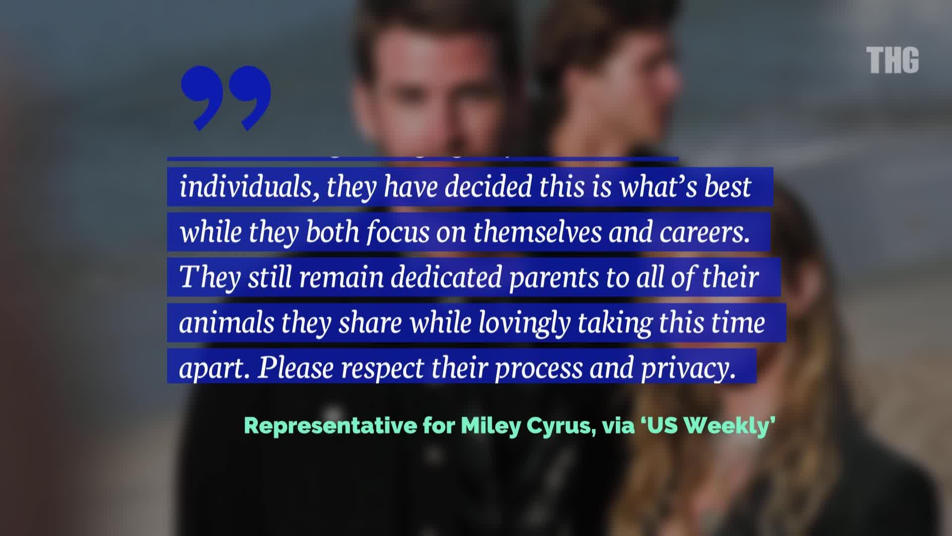 Liam Hemsworth and Miley Cyrus: The Marriage is Over!