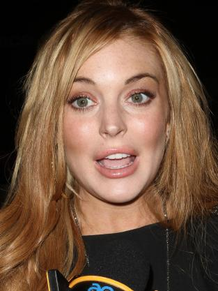Lohan Freaks Out