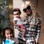 Blac Chyna with Kids