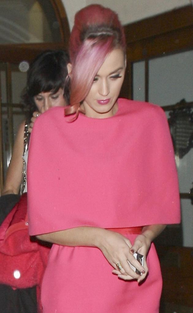 Katy Perry, Short Pink Hair