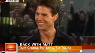Tom Cruise On The Today Show The Hollywood Gossip