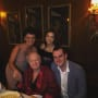 Hugh Hefner and Family