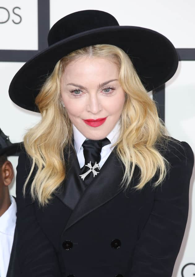 Madonna in a Suit