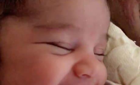 Dream Kardashian Smiling