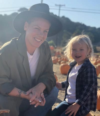 Pink, 3-Year Old Son Contract Coronavirus; Singer Donates $1 Million to the Cause