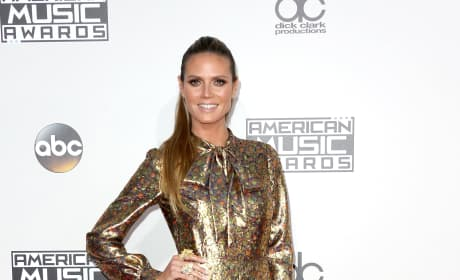 Heidi Klum at the 2016 AMAs
