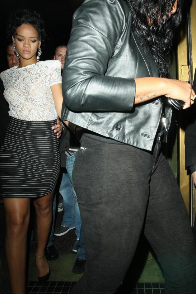 Leading Rihanna
