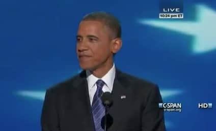 "President Obama Presents Himself as Tested Leader, Says ""Our Problems Can Be Solved"" in DNC Speech"