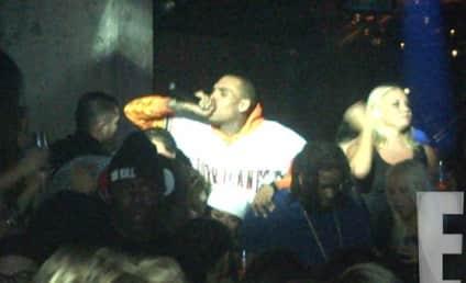 Chris Brown Goes Off Again, Tells Crowd: F*%K DRAKE!