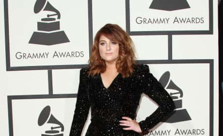 Meghan Trainor at the 2016 Grammys