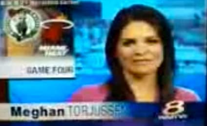 Local News Anchor Reports That Celtics-Heat Playoff Game Ended in Tie