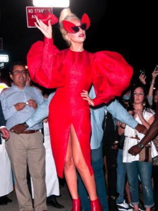 Lady Gaga Devil Outfit
